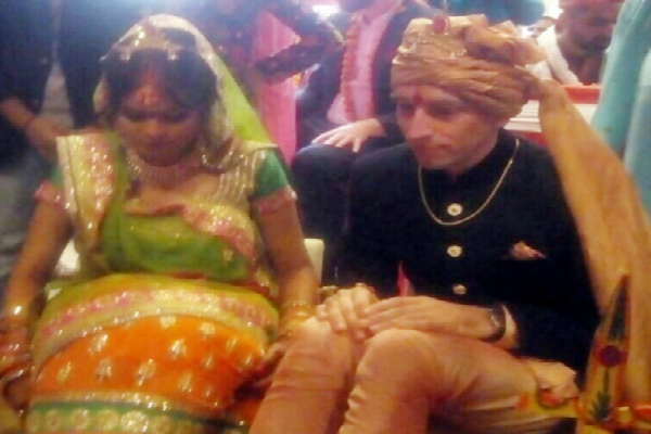 germany boy marriage with indian girl in regency hotel at gwalior