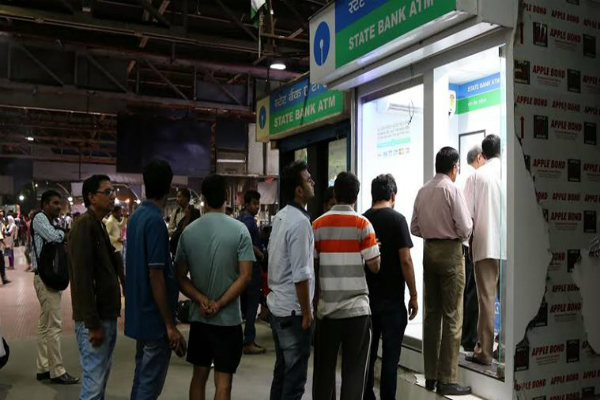 cash problems  banks  atms  no relief from the long queues
