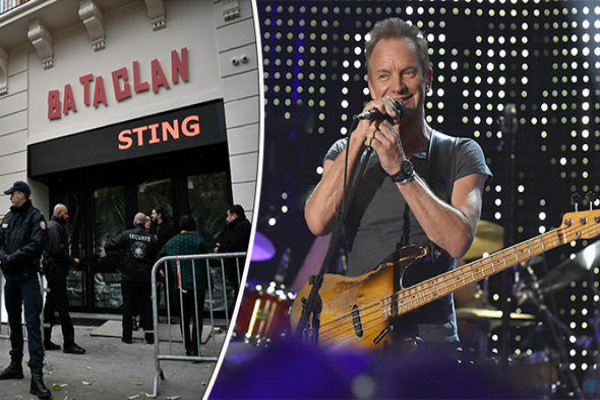 paris attacks bataclan reopens with sting concert