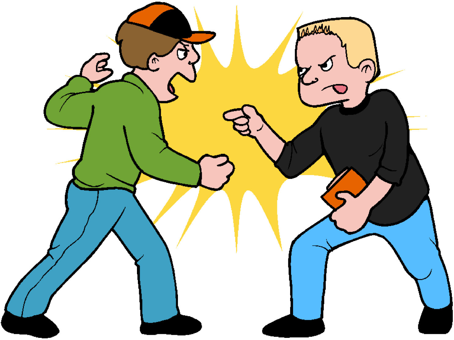 the young men assaulted the bank manager