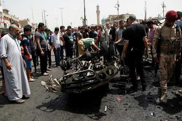 isis militants bomb blast on refugees  18  killed
