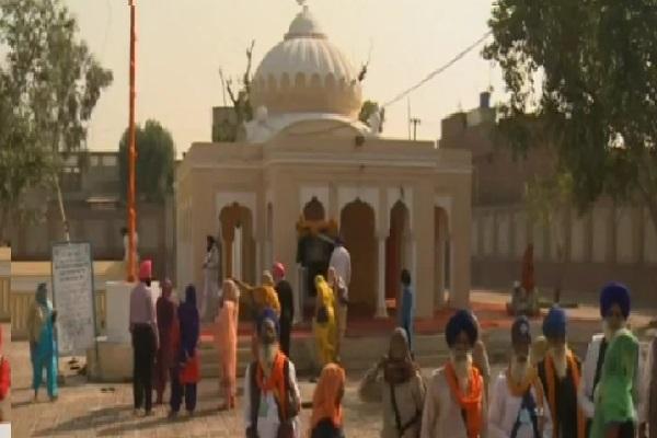 in pak 7 decades after opened  the doors of gurudwara gyara sahib