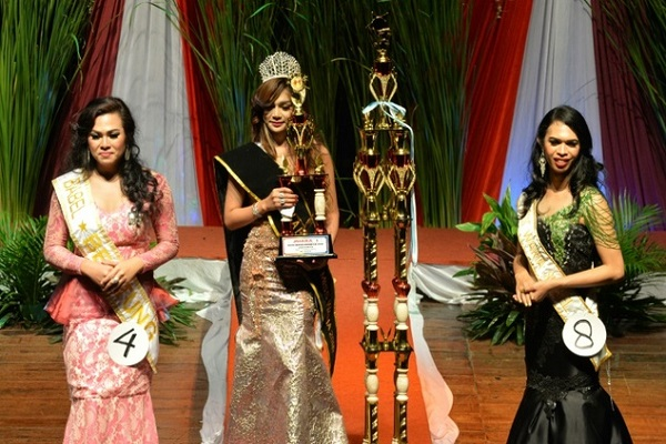 transgender beauty pageant in indonesia