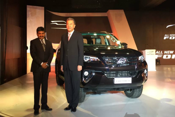 new toyota fortuner launched in india