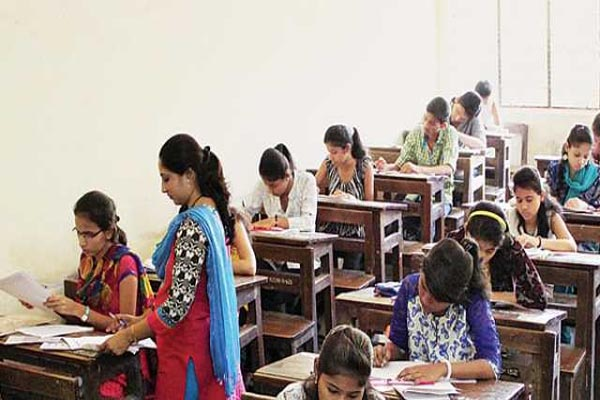 exam centre changed after stone pelting in kashmir