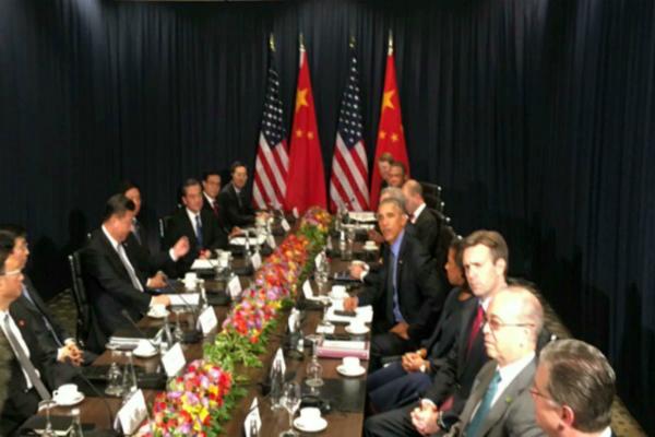 xi says us china ties at  hinge moment