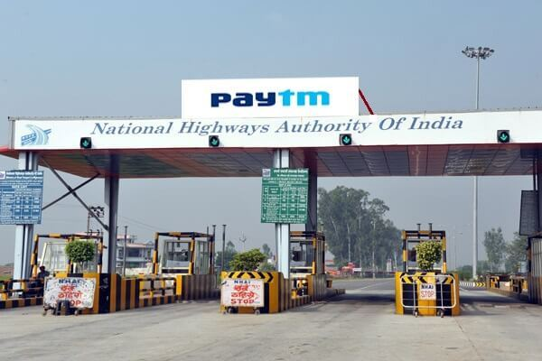 paytm  nhai deal for automatic toll collection