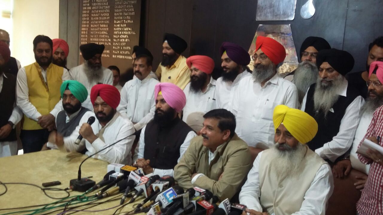 bains brother alliance with aam aadmi party