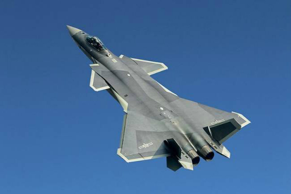 china showcases stealth j 20 fighter