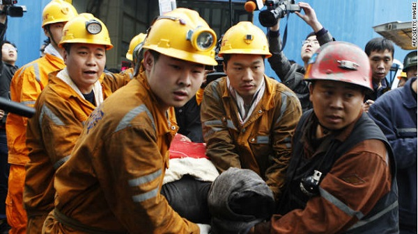 blast in coal mine  4 killed