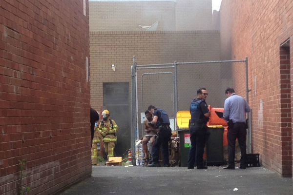 up to 27 injured in deliberate melbourne bank fire
