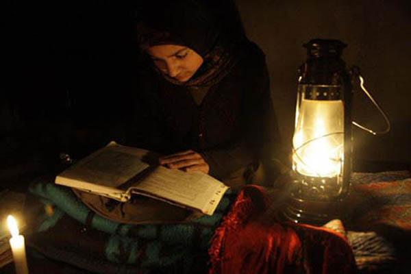 power cut in kashmir