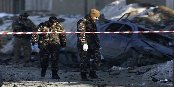 blast in a shia mosque in kabul 13 dead and 30 injured