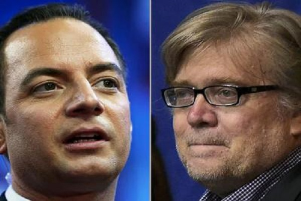preebs and bannon will lead the white house