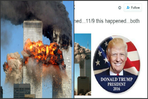 donald trump s election win compared september 11terror attacks