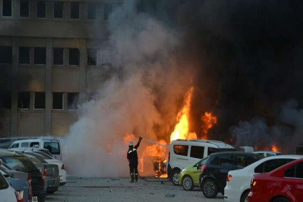 two dead and 16 injured as blast rocks turkish city of adana