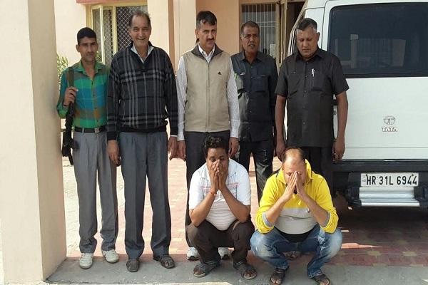 haryana jind bpl cricket tournament  2 arrest  police