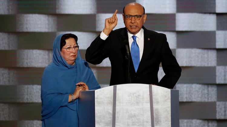 khizr khan donald trump this isnot your america
