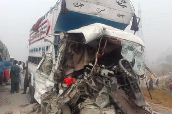 13 killed as 12 cars collide on motorway
