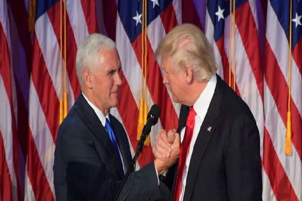 mike pence  became chief  of trump  s  leading power transfer team