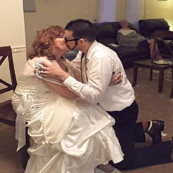17 year old groom and 71 year old bride