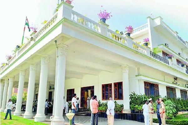 telangana cm kcr moves into new house equipped with bullet proof windows