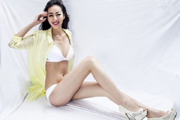 longest legs  became famous in china