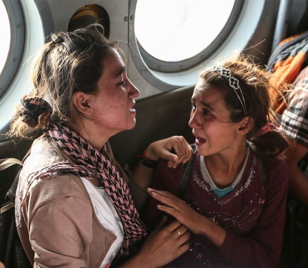 brave female yazidi fighters reveals horrifying torture of isis