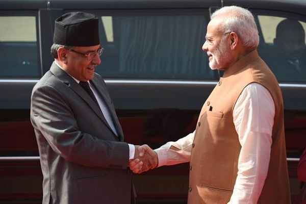 nepal pm call modi over note ban issue