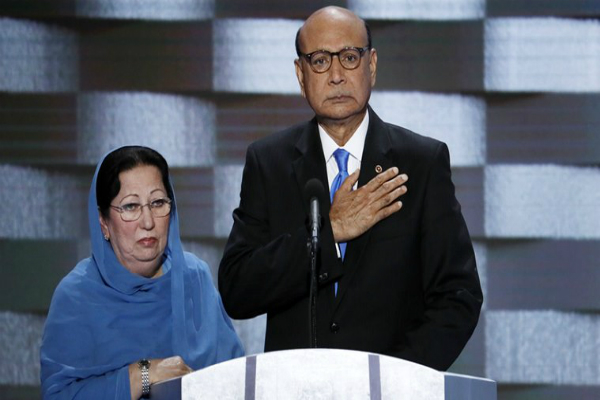 huma abedin humayun khan parents among 45 who defined us presidential elections report