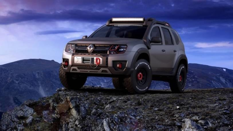 renault duster extreme concept  renault