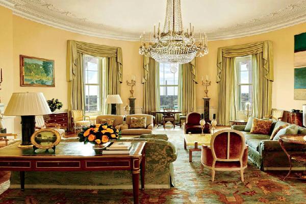 inside photos white house