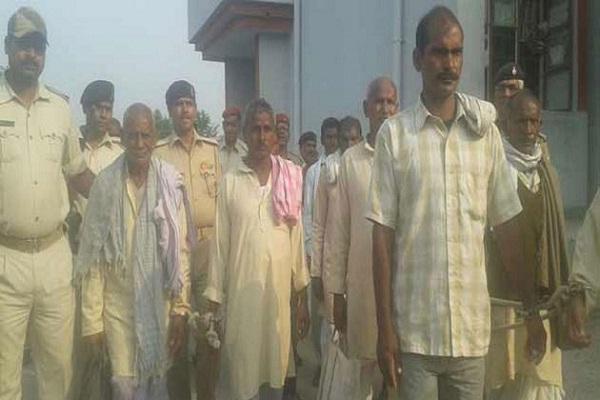 senari massacre case hanging ten  three to life imprisonment