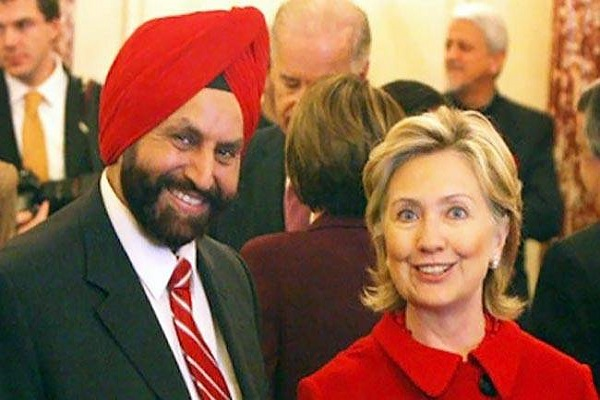 chatwal came out openly in support of hillary