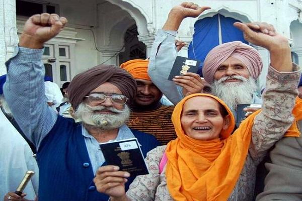 3 316 sikh pilgrims got pakistan visa
