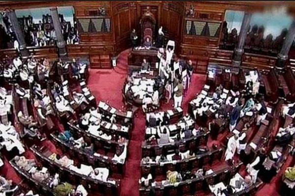 rajya sabha  congress  bjp  ghulam nabi azad  venkaiah naidu