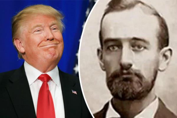 trump grandfather had been pulled out of germany