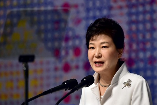 south korea president park geun hye impeachment threat
