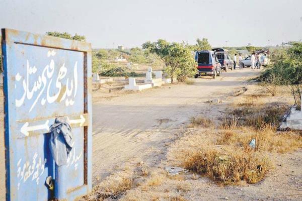 bodies of karachi airport attack militants exhumed