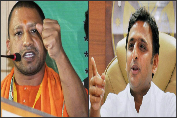 akhilesh is being obstructed by the construction of ams  adityanath