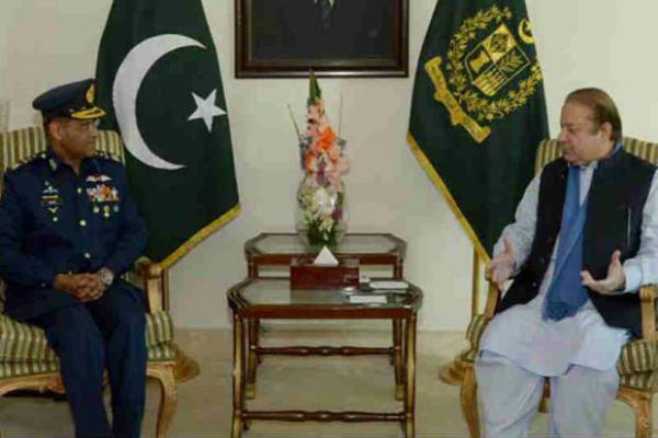 pakistan air force chief sohail aman warn india