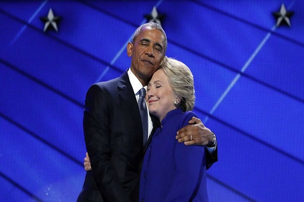 hillary says  difficult to touch the height of  obama