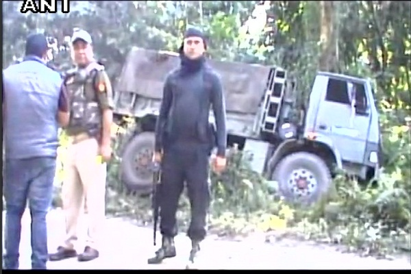 three militant martyred in assam