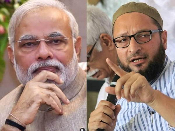 owaisi strongly attacked the modi muslim sharia law will not tolerate interference in