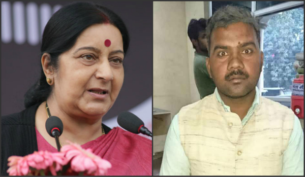 ghanshyam  s offer to donate a kidney to sushma swaraj