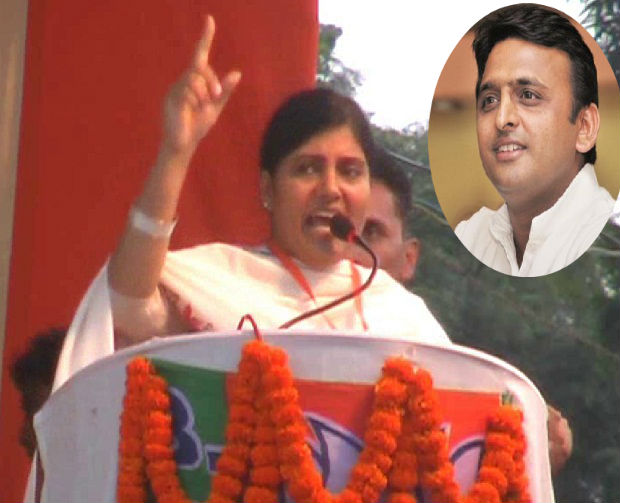 anupriya furious attack  said the collapse of the oppressing city kings akhilesh