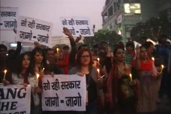 gurgaon  candle march social organizations