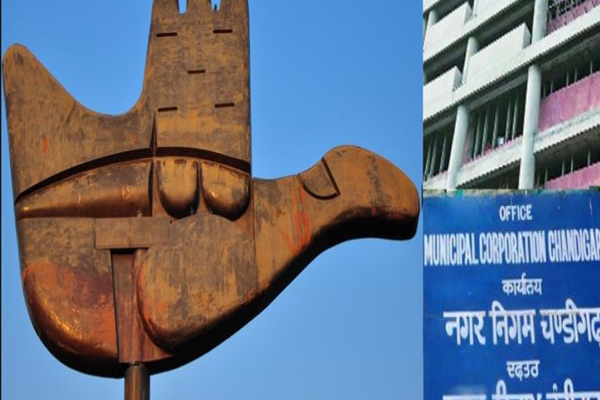 corporation polls  congress  bjp complains to election commission