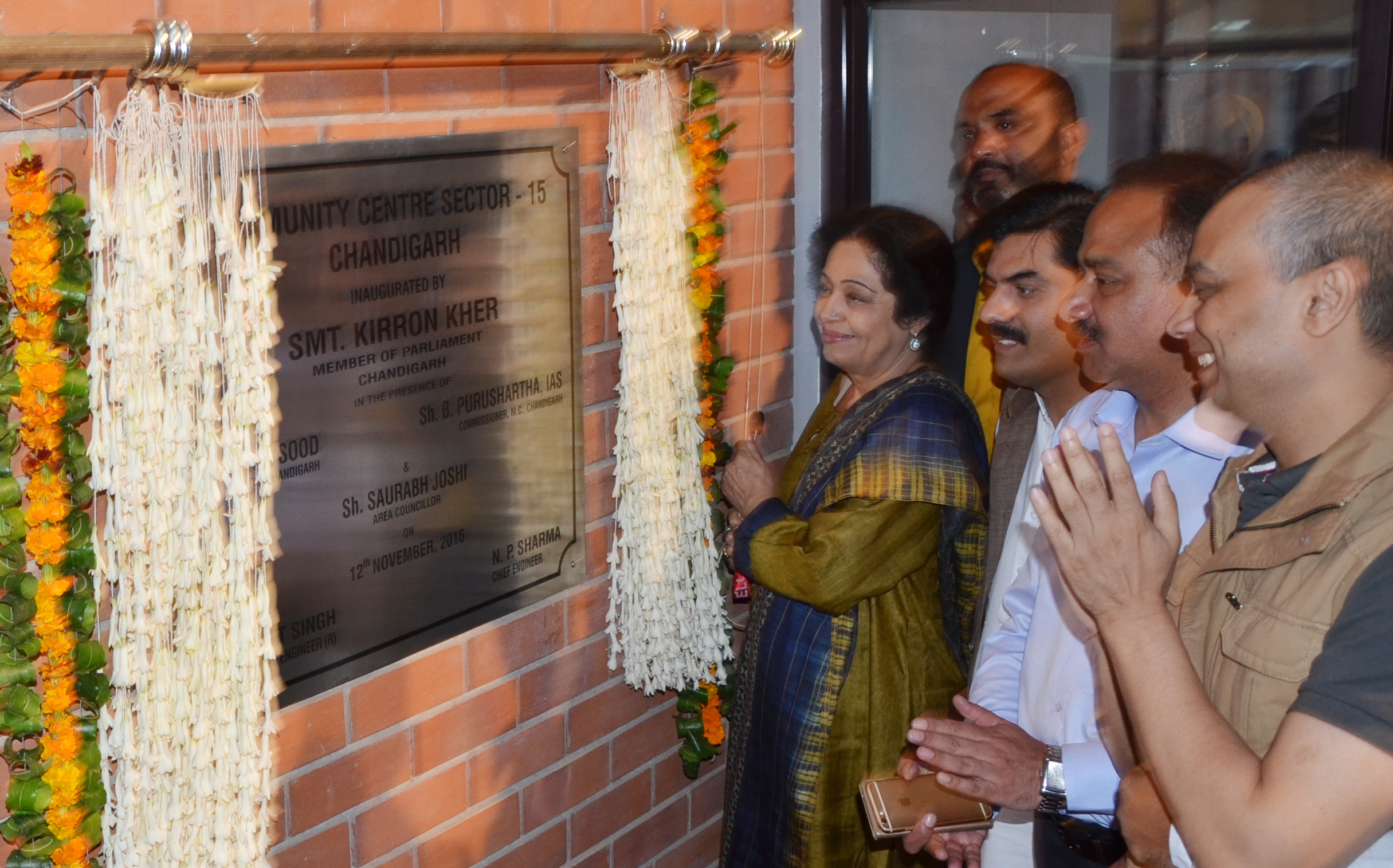 the opening of dispensaries was inaugurated by mp kher