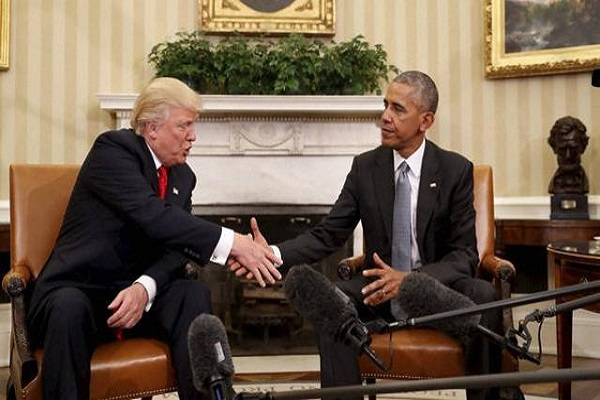obama and trump meet at the white house